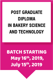 PG Diploma in Bakery Science and Technology