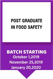 Post Graduate In Food Safety