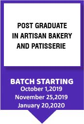 Post Graduate in Artisan Bakery and Patisserie